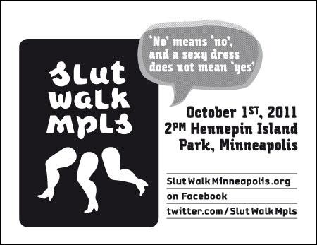 Slut Walk Mpls