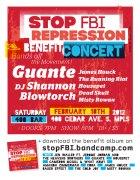 Stop FBI benefit CONCERT web poster COLOR